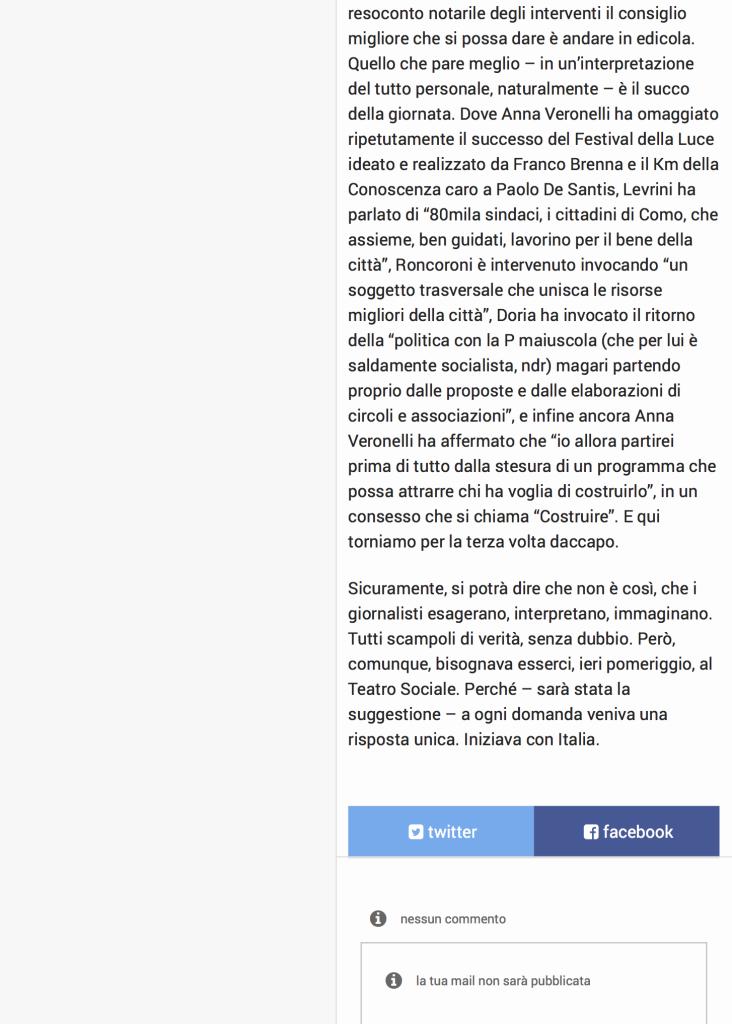 02Levrini, Roncoroni, Zecchillo, Brenna, Tagliabue, Veronelli. Al Sociale la grande suggestione